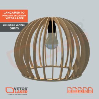 Vetor Luminárias para Corte Laser