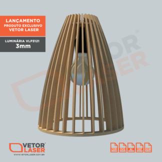Projeto de Luminária Corte Laser