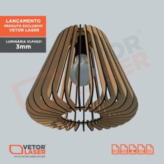 Projeto de Lumiária Corte Laser